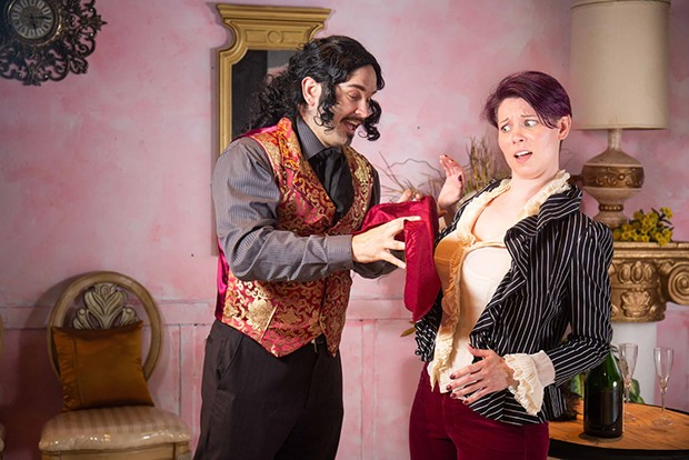 David Hamilton and Tracy Elizabeth Foltz shine in Tartuffe.