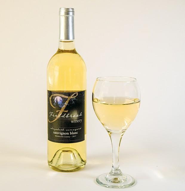 Sauvignon blanc from Fieldbrook Winery.