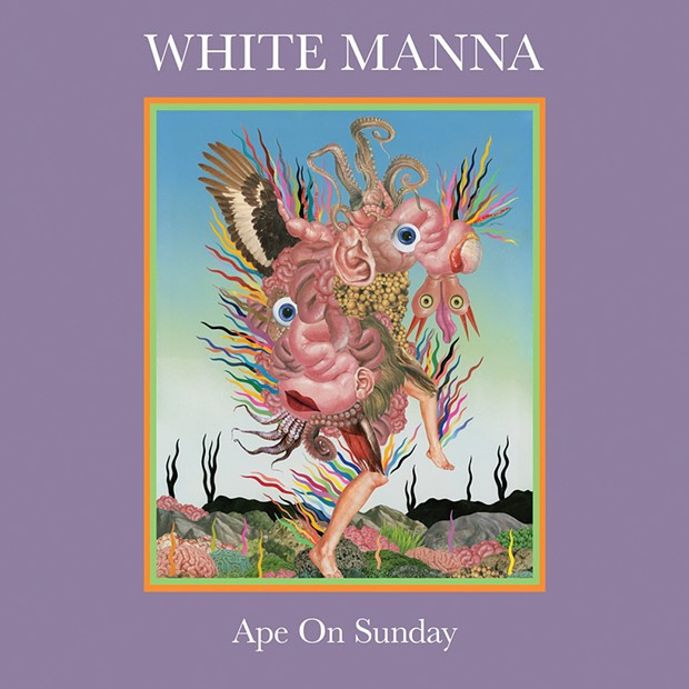 The cover of White Manna's Ape on Sunday.