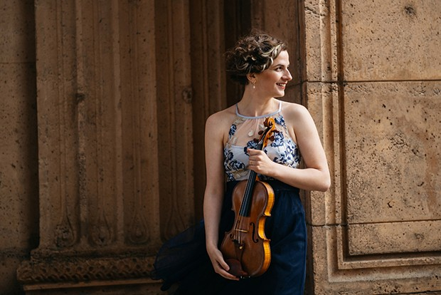 Liana Bérubé performs with the Eureka Symphony on Friday, Oct. 4 at 8 p.m.