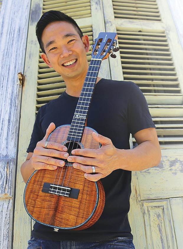 Jake Shimabukuro plays the Arkley Center for the       Performing Arts on Thursday, Oct. 17 at 7 p.m.