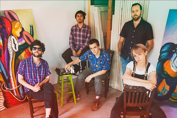 Gorilla Toss plays the Outer Space on Tuesday, Oct. 29 at 7 p.m.