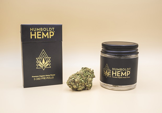 Humboldt CBD's products, made with hemp flowers that contain less than 0.3 percent THC.