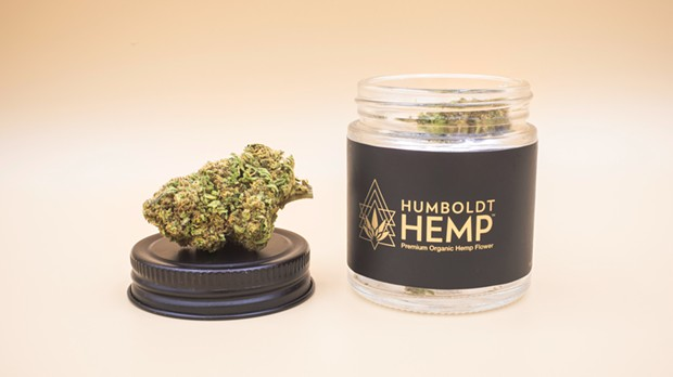 Humboldt CBD's product, made with hemp flowers that contain less than 0.3 percent THC.