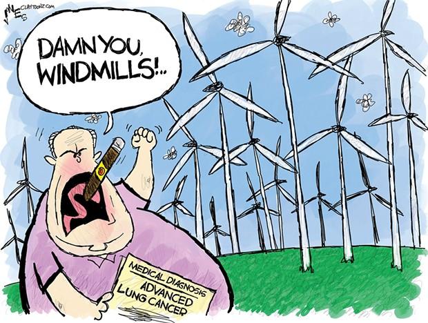 Damn You Windmills!