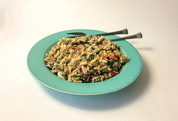 Stop stressing out and make some orzo.