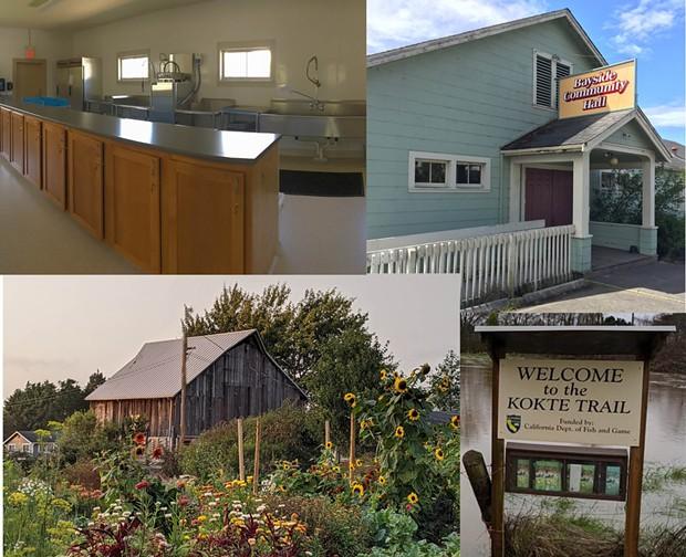 Bayside Hall & Jacoby Creek Land Trust