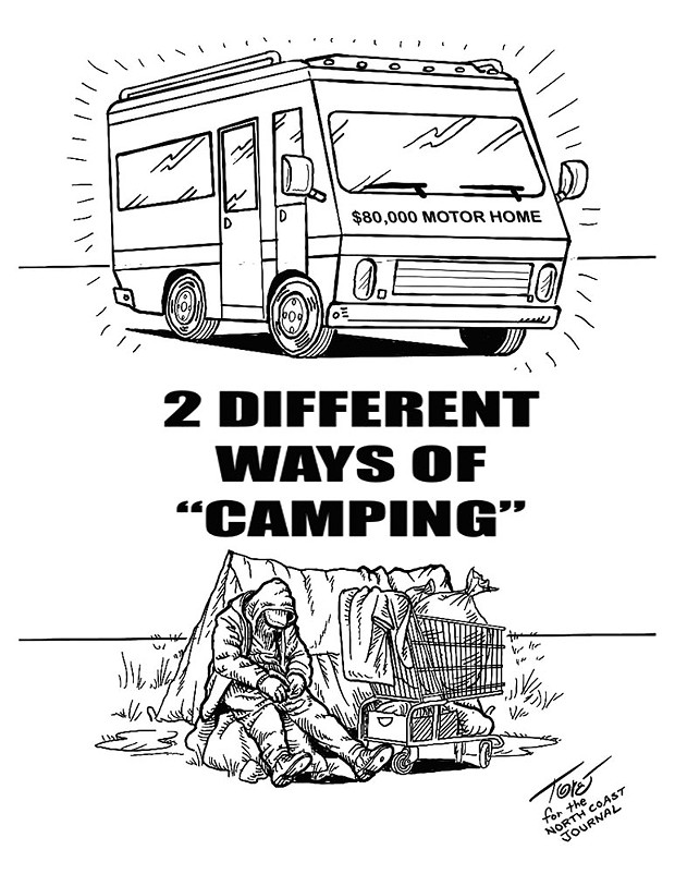 Two Different Ways of Camping