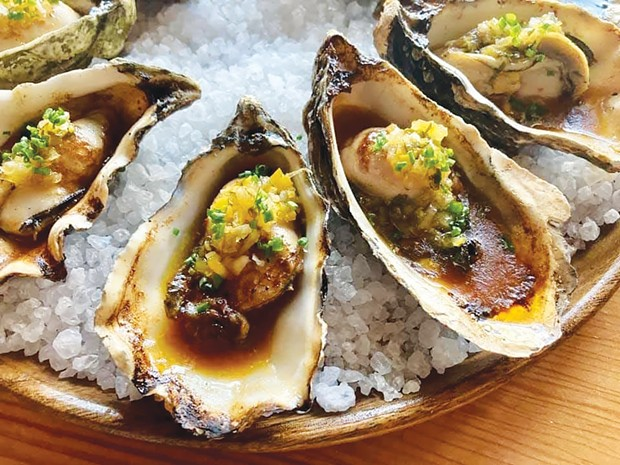 Campground's entry in last year's virtual Arcata Bay Oyster Festival competition.
