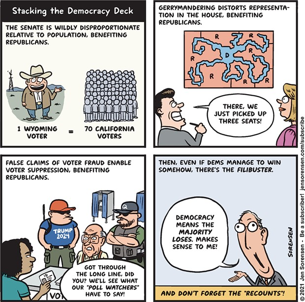 Stacking the Democracy Deck
