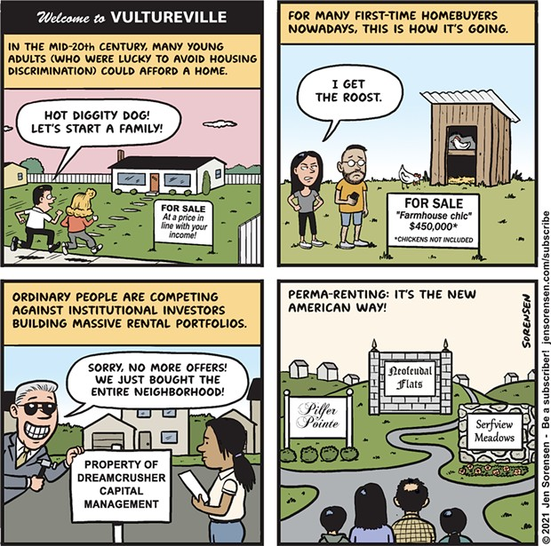 Welcome to Vultureville