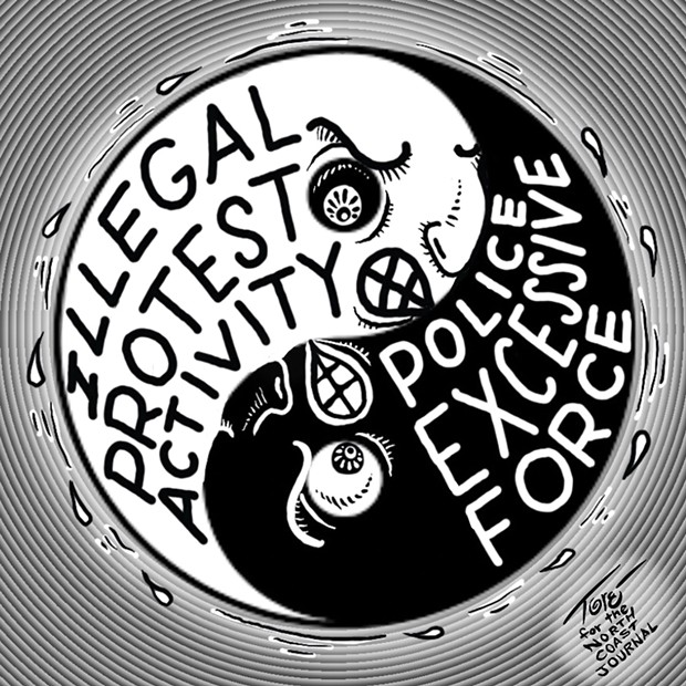 Illegal Protest Activity & Police Excessive Force