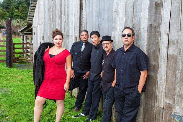Claire Bent and Citizen Funk play Pierson Park at 6 p.m. on Thursday, July 29.