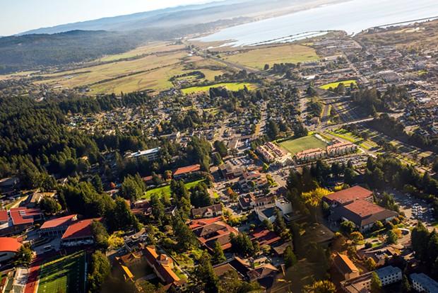 Humboldt State University campus.