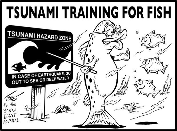 Tsunami Training for Fish