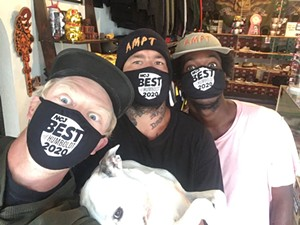 The crew at AMPT Skate Shop, winner of Best Skate Shop. - SUBMITTED
