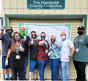 The staff at The Humboldt County Collective, voted Best Dispensary. - Submitted. - SUBMITTED.
