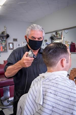 Best Barber: Rocky - PHOTO BY MARK MCKENNA