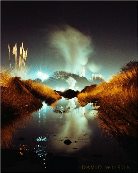"""The Essence of Eureka"" captured on a single 35mm frame of film in November 1990. - DAVID WILSON"