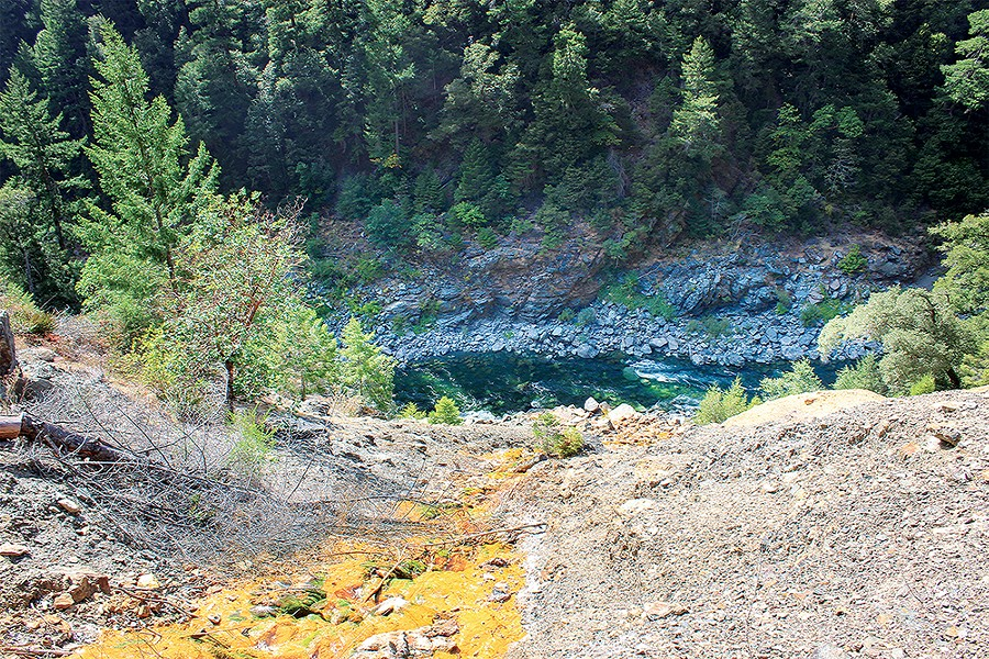 EPA Considers Hoopa Mine for Superfund Designation | News