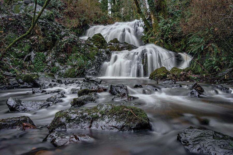 Mill Creek Falls. - DAVID SAFIER