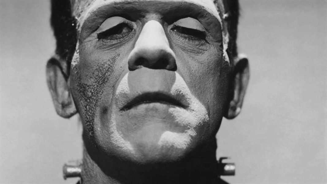 Boris Karloff as Frankenstein's monster. - WIKIPEDIA