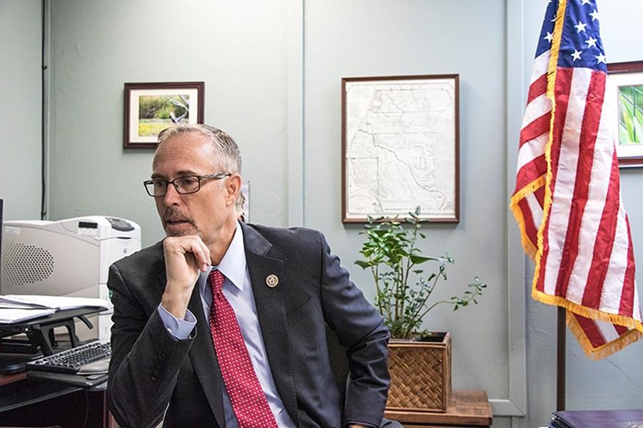 Congressman Jared Huffman - FILE PHOTO