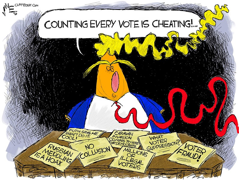 Counting Every Vote is Cheating