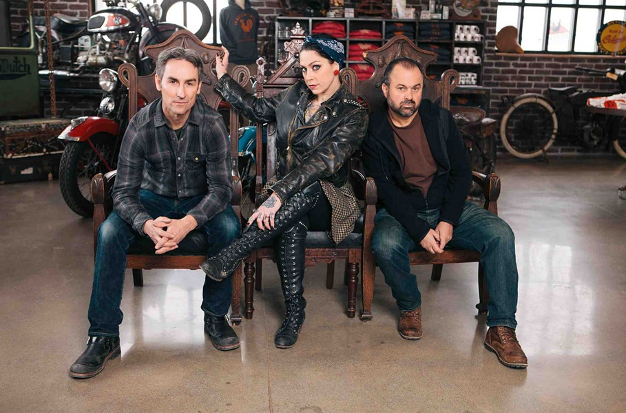 The cast of American Pickers coming to a garage near you. Maybe. - SUBMITTED