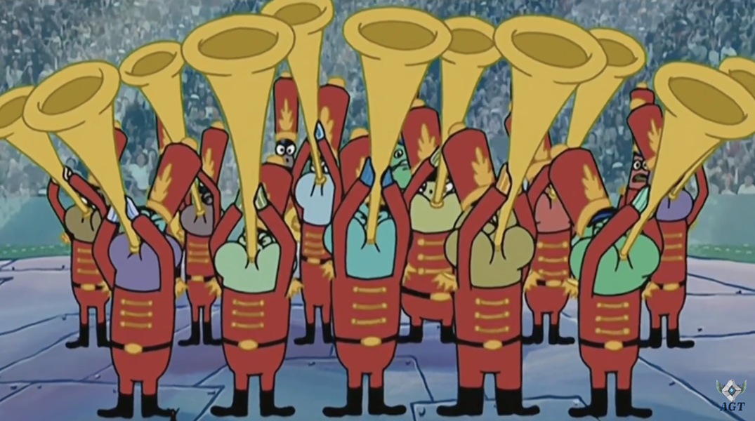 Sounding the trumpets for disappointment. - YOUTUBE