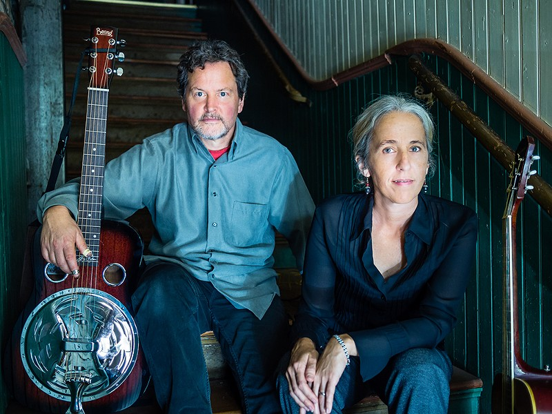 Rita Hosking and Sean Feder play The Old Steeple on Saturday, Feb. 23 at 7:30 p.m. ($20).