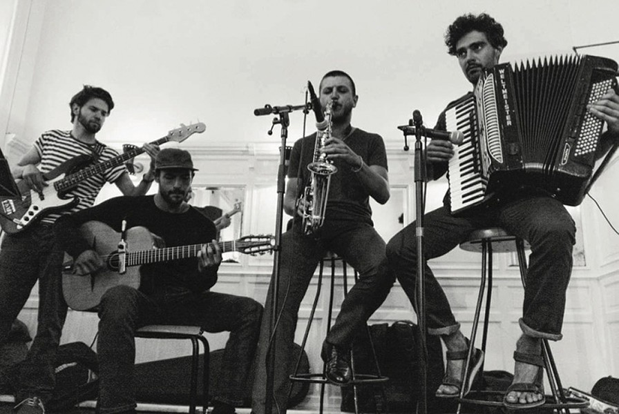 Szkojáni Charlatans play the Sanctuary on Tuesday, March 5 at 8 p.m. - SUBMITTED