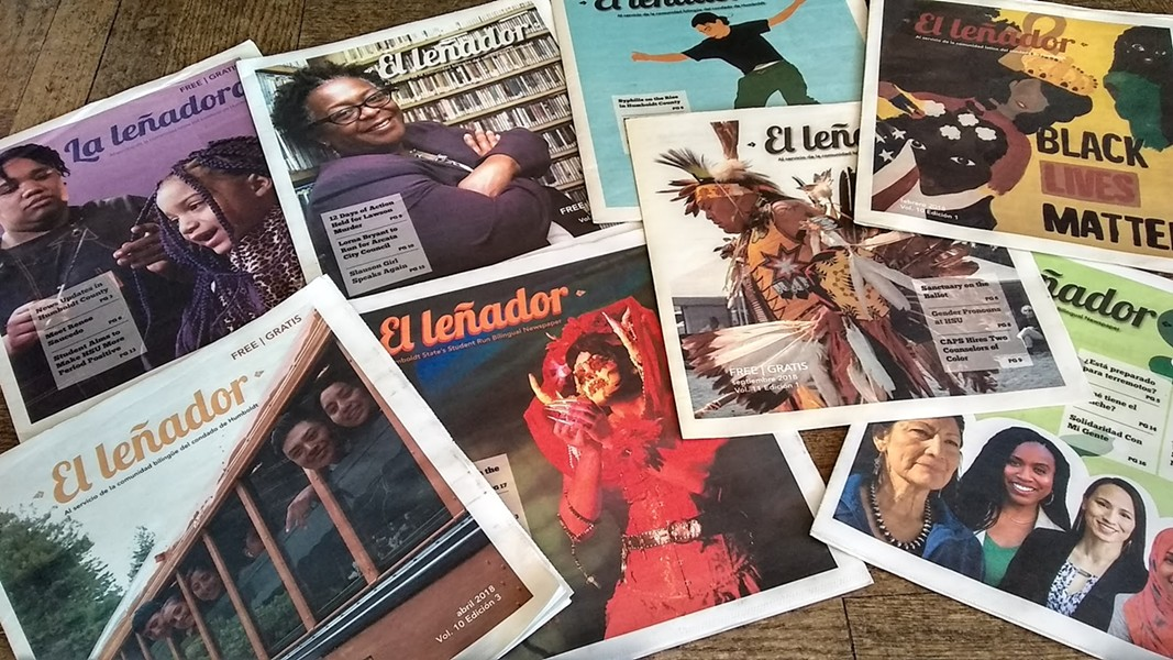 El Leñador 2018 issues. - SUBMITTED