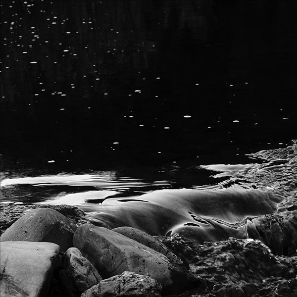 """Jim Lowry's """"South Fork Eel River,"""" inkjet print, 2018. - COURTESY OF THE ARTIST"""