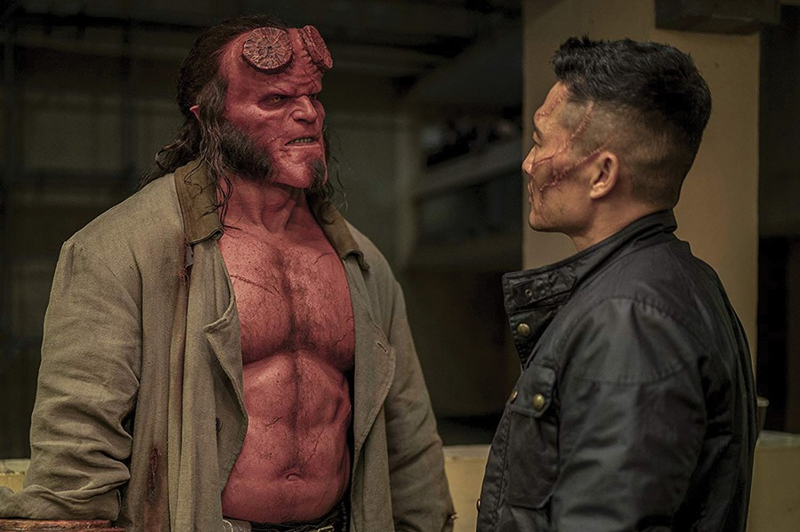 You don't look like your profile pic, either. - HELLBOY