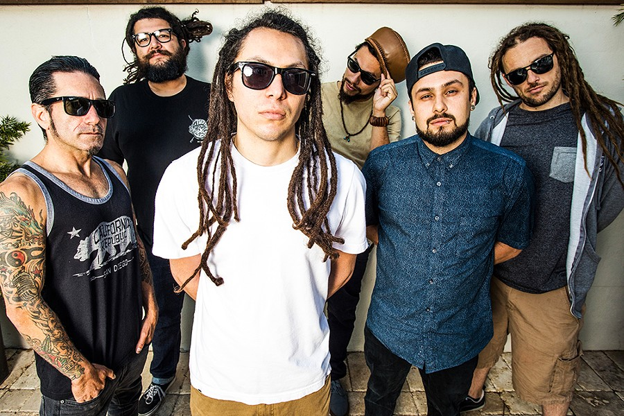 Tribal Seeds play the Mateel Community Center, Thursday, April 25 at 8 p.m. ($29, $24 advance). - SUBMITTED