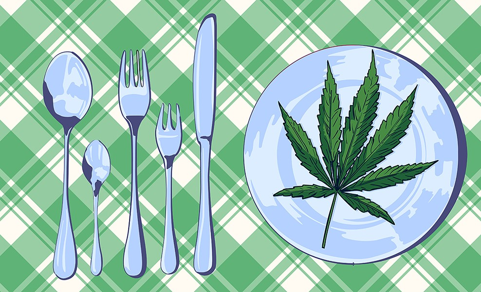 Flower Service Comes Tableside | The Week in Weed | North Coast Journal
