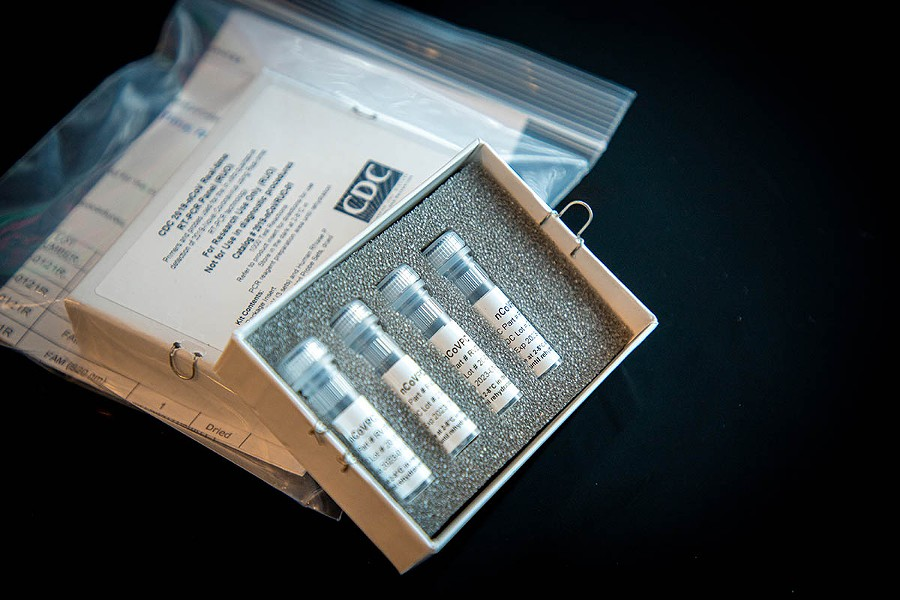 A testing kit. - CDC