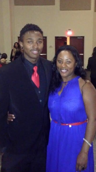 Charmaine Lawson and her son David Josiah Lawson. - SUBMITTED