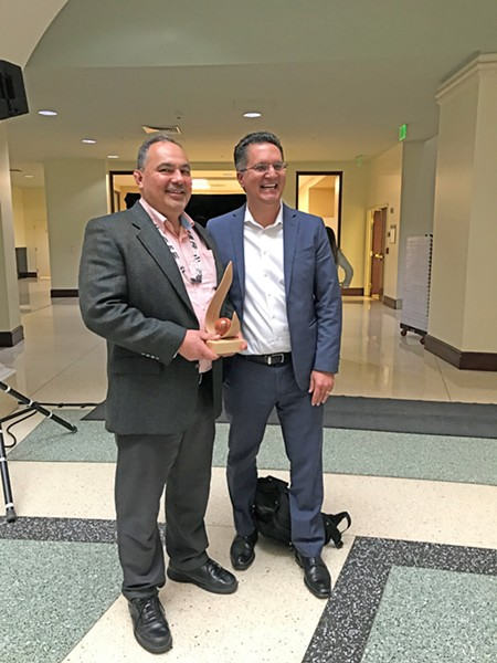 On Monday, July 6, California Governor Gavin Newsom appointed Yurok Education Director Jim McQuillen (left) to the State Board of Education. - SUBMITTED
