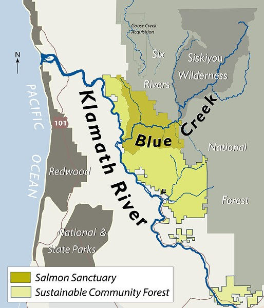 THE WESTERN RIVERS CONSERVANCY