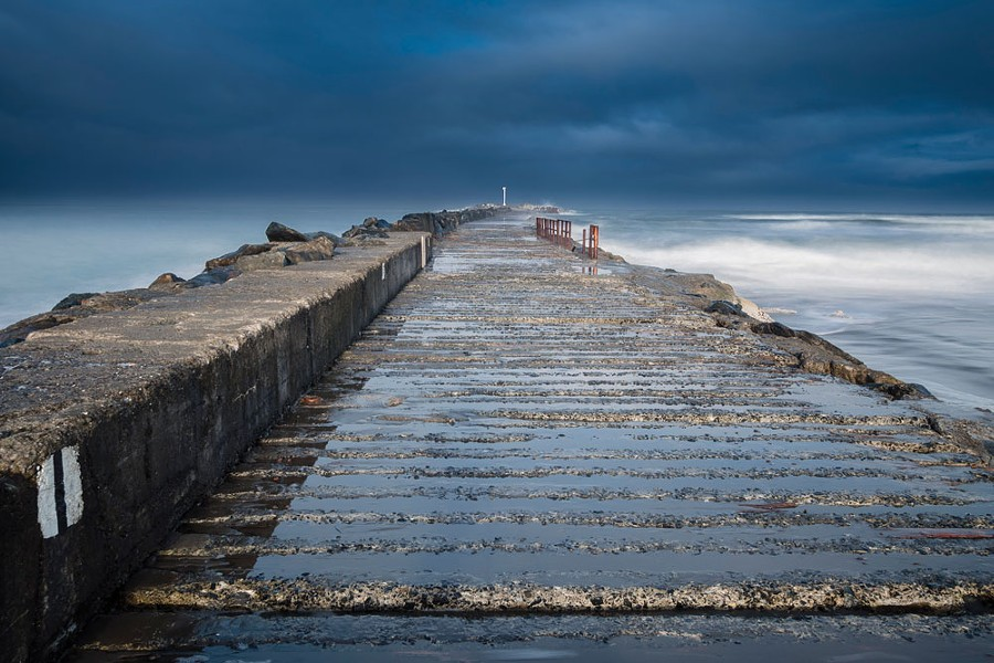 North Jetty. - GREG NYQUIST