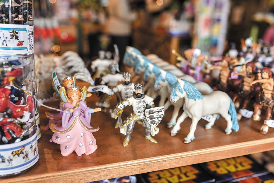 The Rocking Horse. - DREW HYLAND