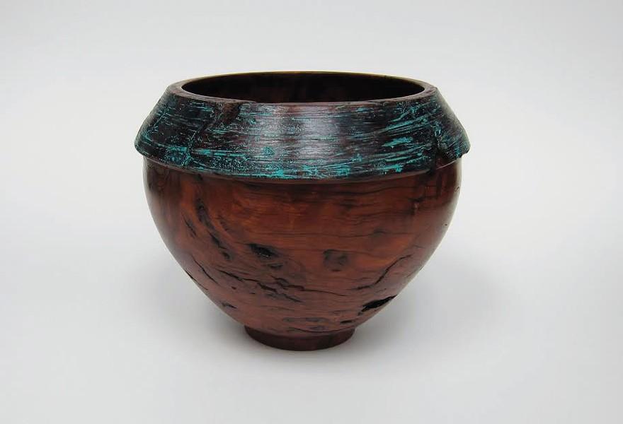 Hand turned bowls by Melanie Kasek.