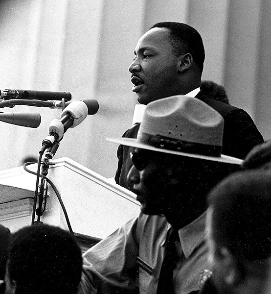 Martin Luther King Jr. - PUBLIC DOMAIN