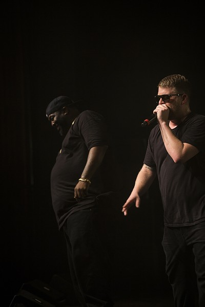 Killer Mike and El-P. - PHOTO BY SAM ARMANINO