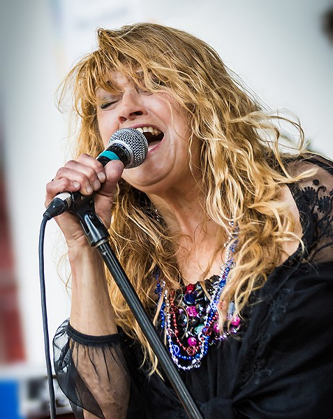 Lydia Pence and Cold Blood play Acres of Blues at Redwood Acres on Saturday, Sept. 2. - PHOTO BY FRANKIE JAMES PHOTOGRAPHY, COURTESY OF THE ARTISTS