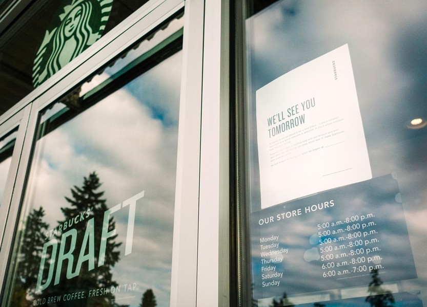 Four Humboldt County Starbucks are closing Tuesday for racial-sensitivity training. - STARBUCKS