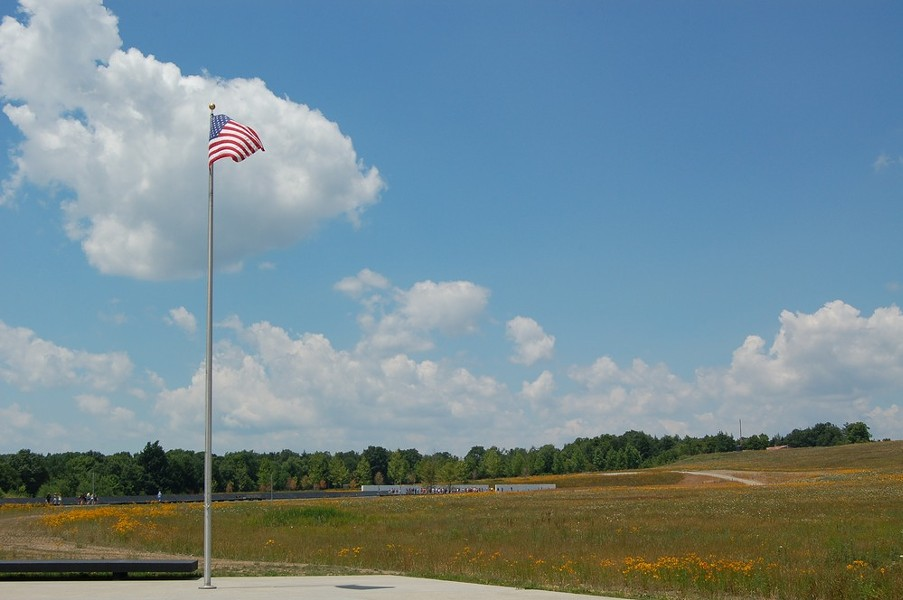 The grounds of the Flight 93 National Memorial. - NPS
