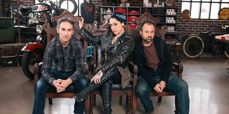 The cast of American Pickers coming to a garage near you. Maybe.